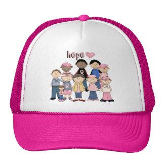 Hope Pink Ribbon Trucker Hat