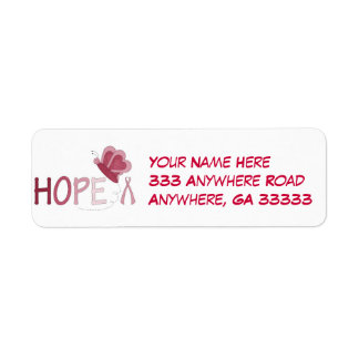 Hope return address labels