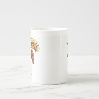Hope Rises Like a Phoenix Bone China Mug