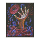 Hope  - Sickle Cell Pain Awareness Canvas Print