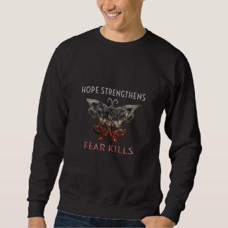 Hope Strengthens Men's Sweatshirt