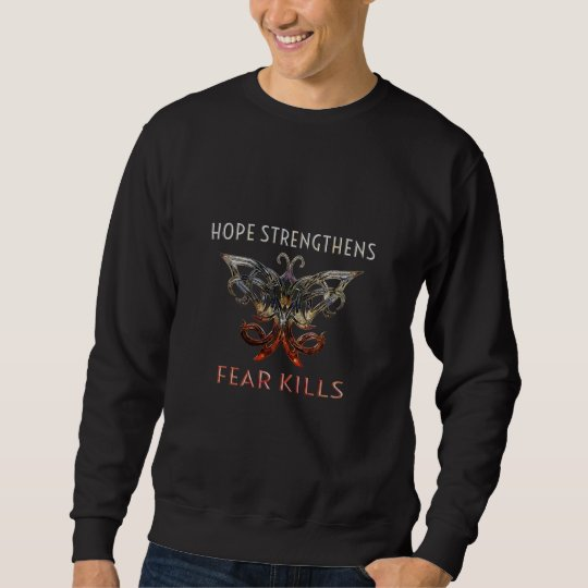 Hope Strengthens Men's Sweatshirt