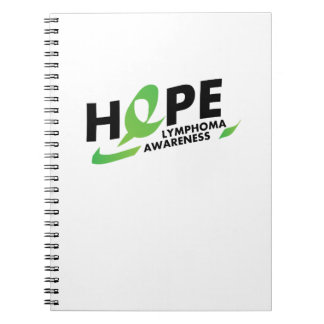 Hope Strong Lymphoma Awareness Support Gift Notebook