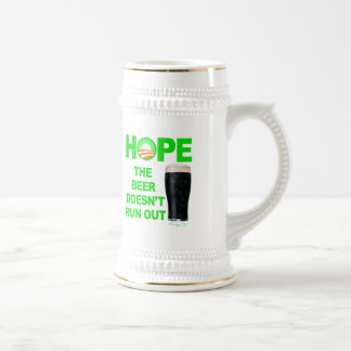 HOPE - The Beer Doesn't Run Out Beer Stein