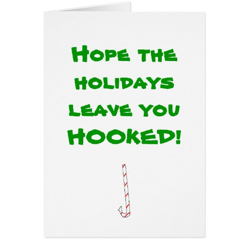 Hope the holidays leave you HOOKED! Cards