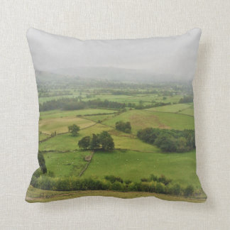 Hope Valley - Peak District Throw Pillow