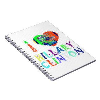 Hope Vote Blue  Lovely Reflection Amazing Hillary Notebooks