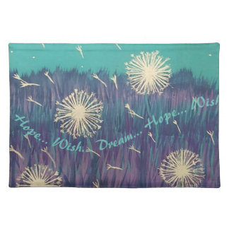 Hope Wish Dream Cloth Place Mat