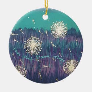 Hope Wish Dream Ornament