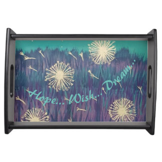 Hope, Wish, Dream Serving Tray