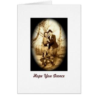 Hope You Dance Card