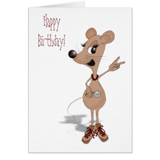 Hope you have the micest birthday ever! card