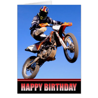 Hope your birthday is a wild ride card
