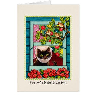 'Hope you're feeling better soon' CAT Card
