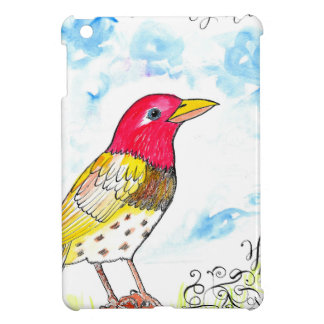Hopeful bird cover for the iPad mini