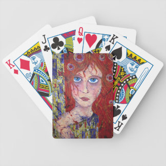 HOPEFUL MAIDEN playing cards