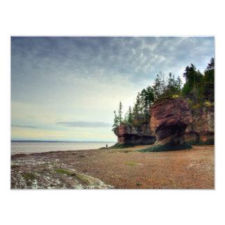 Hopewell bascule le Nouveau Brunswick Canada Photographie