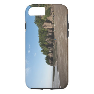 Hopewell Rocks and The Ocean Tidal Exploration iPhone 7 Case