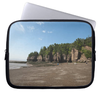 Hopewell Rocks and The Ocean Tidal Exploration Laptop Computer Sleeve