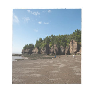 Hopewell Rocks and The Ocean Tidal Exploration Memo Notepads
