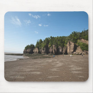 Hopewell Rocks and The Ocean Tidal Exploration Mouse Pad