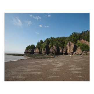 Hopewell Rocks and The Ocean Tidal Exploration Posters