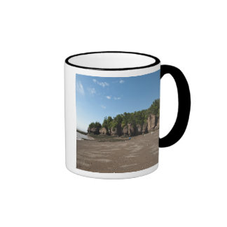 Hopewell Rocks and The Ocean Tidal Exploration Ringer Coffee Mug