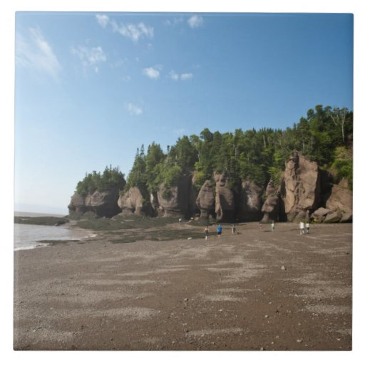 Hopewell Rocks and The Ocean Tidal Exploration Tile