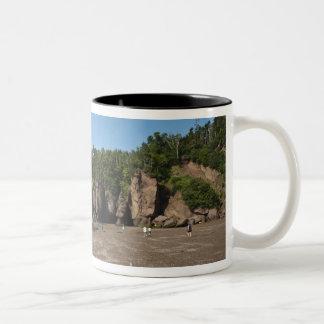Hopewell Rocks and The Ocean Tidal Exploration Two-Tone Coffee Mug