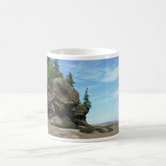 Hopewell Rocks Basic White Mug