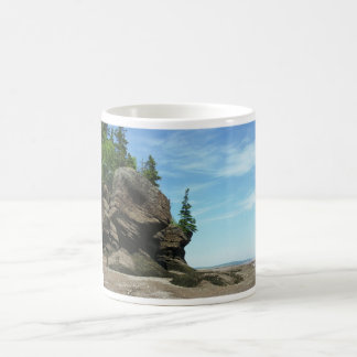 Hopewell Rocks Classic White Coffee Mug