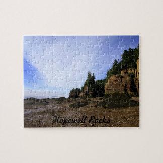 Hopewell Rocks Jigsaw Puzzle