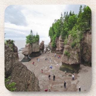 Hopewell Rocks Low Tide Canada Coaster