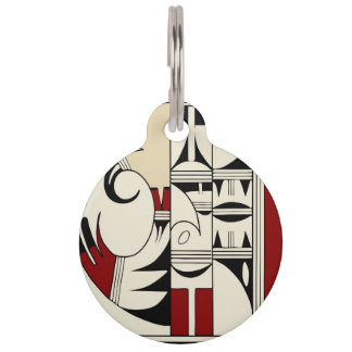 Hopi Pottery 01 Pet ID Tag