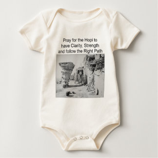 Hopi support infant onsie baby bodysuit