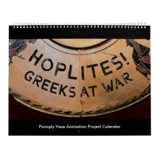 Hoplites! Greeks at War Calendar