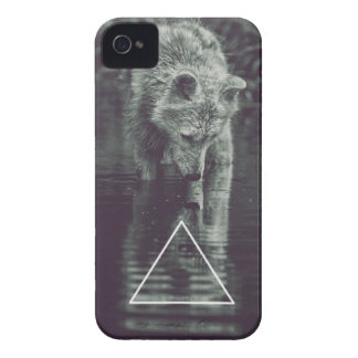 hopping ASTRE wolf iPhone 4 Case-Mate Cases