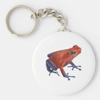 Hopping Limited Basic Round Button Keychain