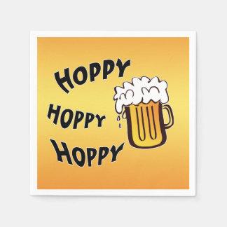 Hoppy Beer Disposable Napkin