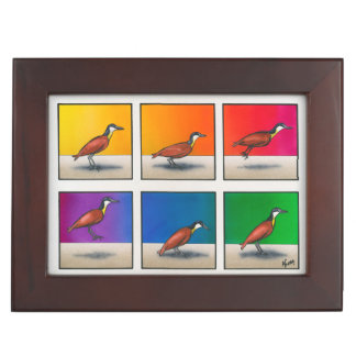 Hoppy Bird-day Keepsake Box