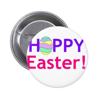 Hoppy Easter 2 Inch Round Button