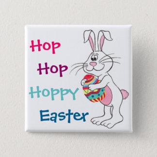 Hoppy Easter Bunny & Egg - Customizable Pin