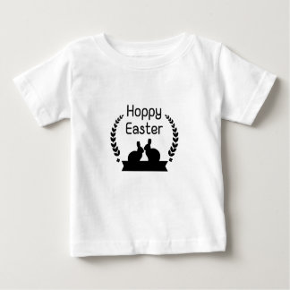 Hoppy Easter Bunny Funny Kids Women Men Baby T-Shirt