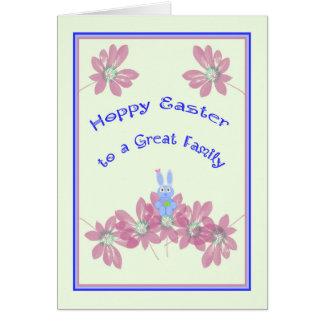 Hoppy Easter Card from Babysitter