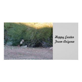 Hoppy Easter Customized Photo Card