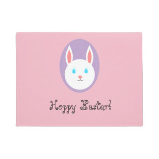Hoppy Easter Door Mat