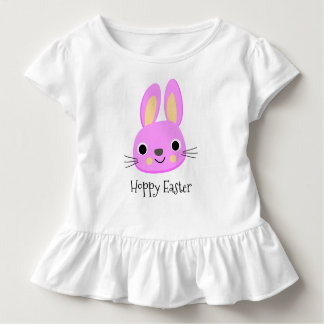 Hoppy Easter • Pink Bunny / Spring Toddler T-shirt