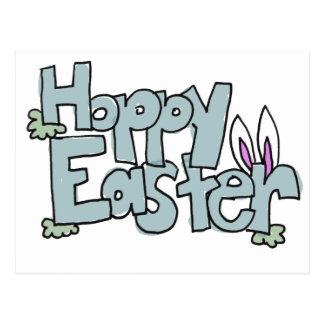 Hoppy Easter Post Card