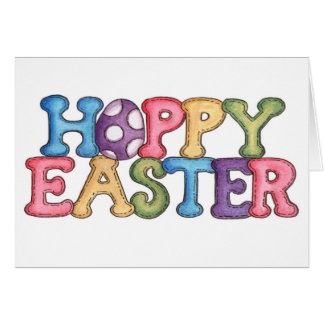 """""""HOPPY"""" EASTER WISHES FILLED WITH LOVE CARD"""
