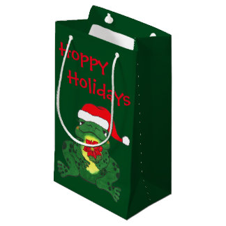 Hoppy Frog Christmas - Gift Bag